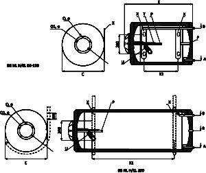 хоризонтален електрически бойлер размери bb el